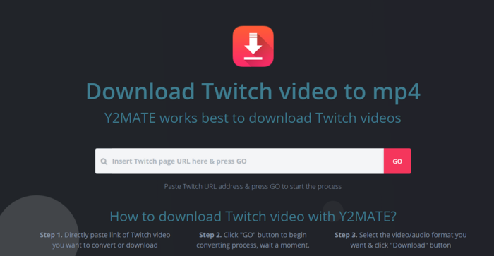 y2mate twitch clip downloader